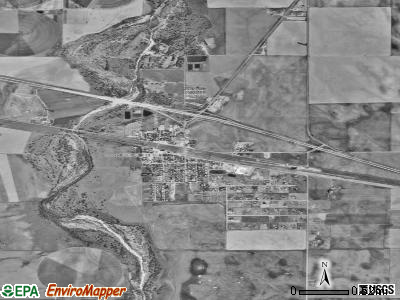 Byers satellite photo by USGS