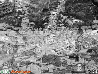 Mescalero satellite photo by USGS