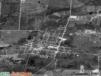 Gunter satellite photo by USGS