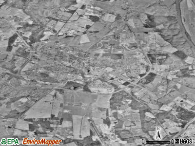 Leesburg satellite photo by USGS