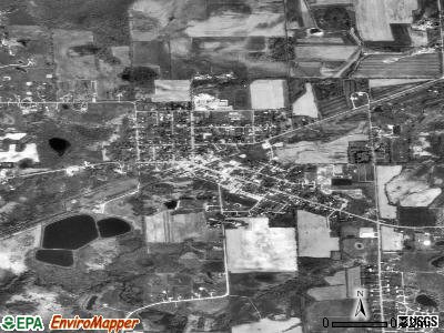 Laingsburg satellite photo by USGS