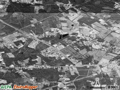 East Sumter satellite photo by USGS
