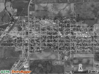 Knox City satellite photo by USGS