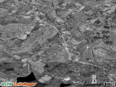 Glenburn satellite photo by USGS