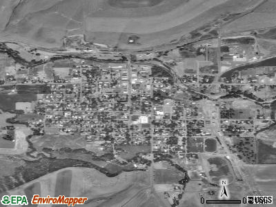 Lenape Heights satellite photo by USGS