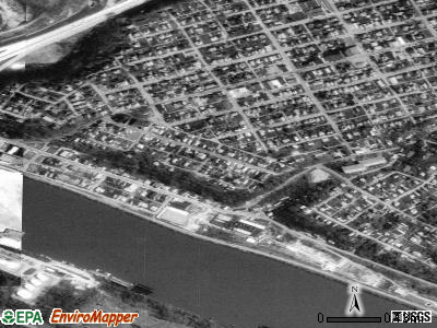 Belle Vernon satellite photo by USGS