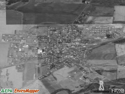 Frazeysburg satellite photo by USGS