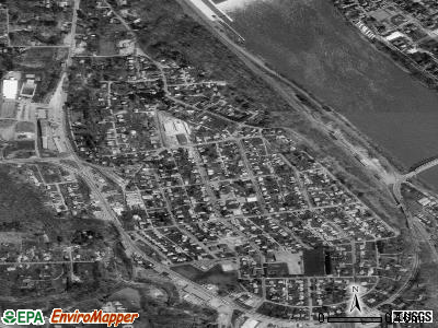 West Kittanning satellite photo by USGS