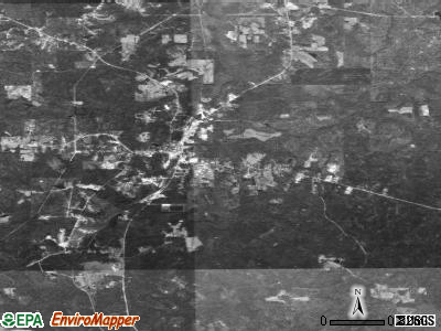 Chatom satellite photo by USGS