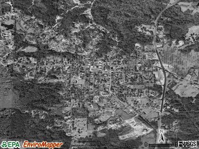 Woodville satellite photo by USGS