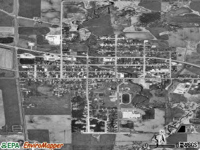 Reedsville satellite photo by USGS