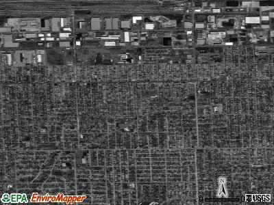 Burbank satellite photo by USGS