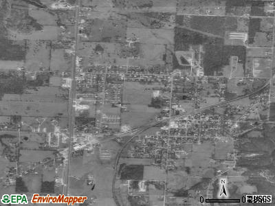 Goodman satellite photo by USGS