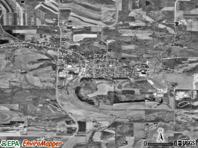 Glenwood City satellite photo by USGS