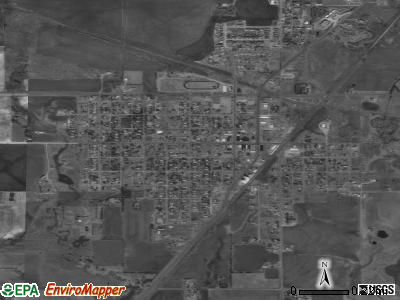 Mechanicsville satellite photo by USGS