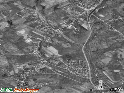 Curtisville satellite photo by USGS