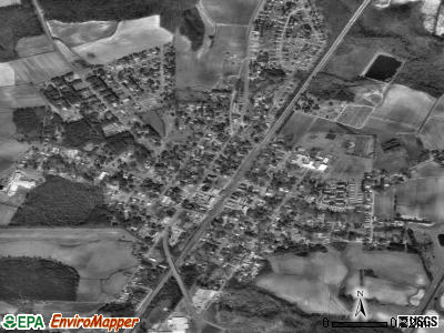 Elm City satellite photo by USGS
