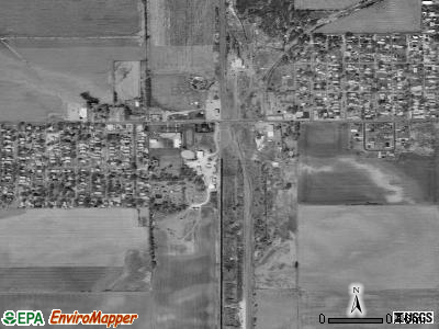 South Pekin satellite photo by USGS