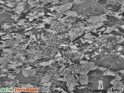 Summerville satellite photo by USGS