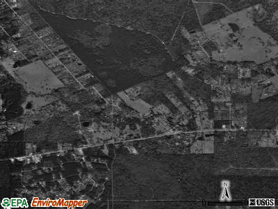 Cut and Shoot satellite photo by USGS