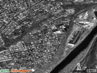 West Easton satellite photo by USGS