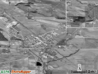 Ely satellite photo by USGS