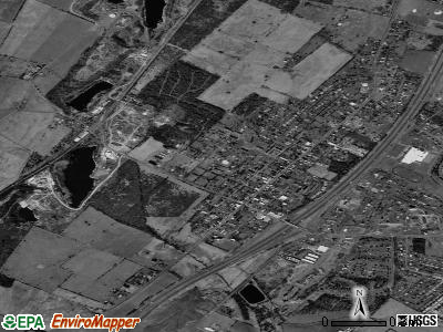 Stephens City satellite photo by USGS