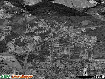 Silver City satellite photo by USGS