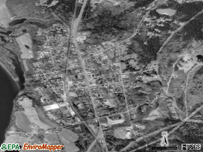 Charlestown satellite photo by USGS