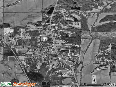 Plantersville satellite photo by USGS