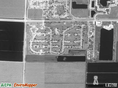 Belle Glade Camp satellite photo by USGS