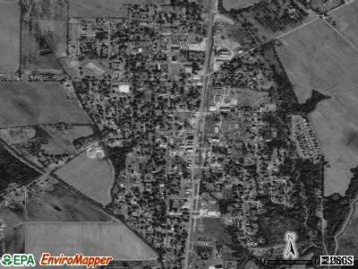 Wisner satellite photo by USGS