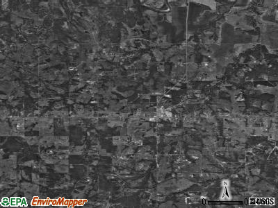 Dickson satellite photo by USGS