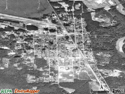 Darrington satellite photo by USGS