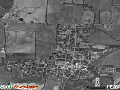 Obion satellite photo by USGS