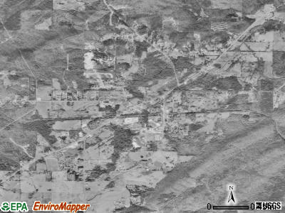 Odenville satellite photo by USGS