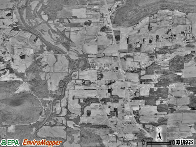 Owens Cross Roads satellite photo by USGS