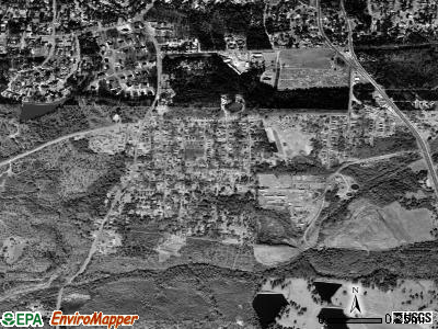 Lincoln Park satellite photo by USGS