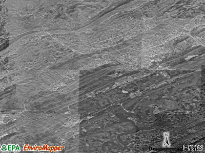 Oak Ridge satellite photo by USGS