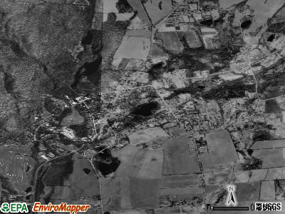 Amenia satellite photo by USGS