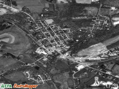 Avondale satellite photo by USGS