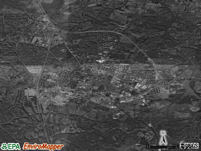 Richmond satellite photo by USGS