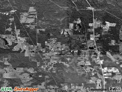 Lyman satellite photo by USGS