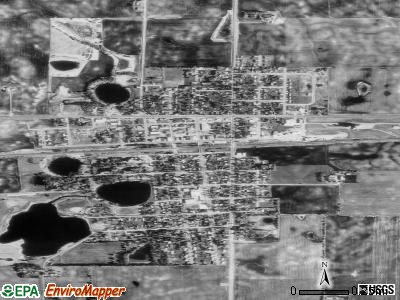 Atwater satellite photo by USGS