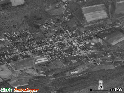 Bloomfield satellite photo by USGS