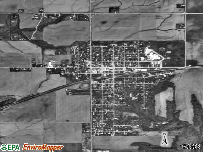 Lakeview satellite photo by USGS