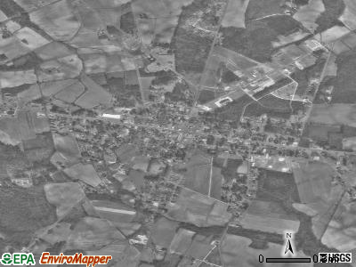 Beulaville satellite photo by USGS