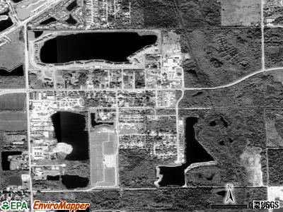 Texico satellite photo by USGS
