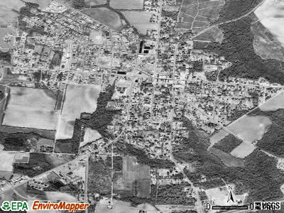 Summerton satellite photo by USGS