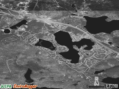 Rock Hill satellite photo by USGS